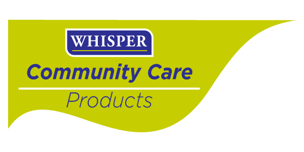 Whisper Community Care logo