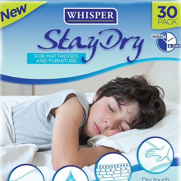 Whisper Stay Dri Featured Product